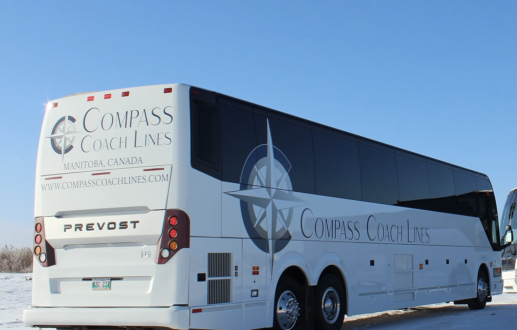 Compass Coach Lines | Brandon & Winnipeg, MB